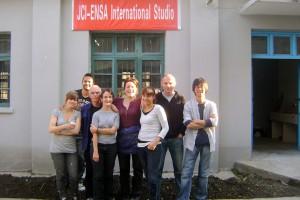 Photo : les post-diplômes, promotion2012, à Jingdezen (Chine)