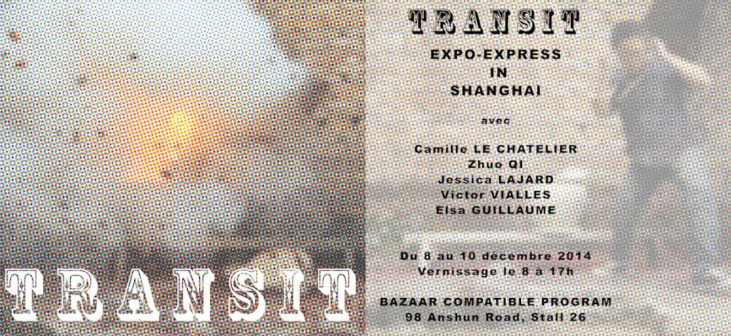 Visuel exposition Transit Shangaï