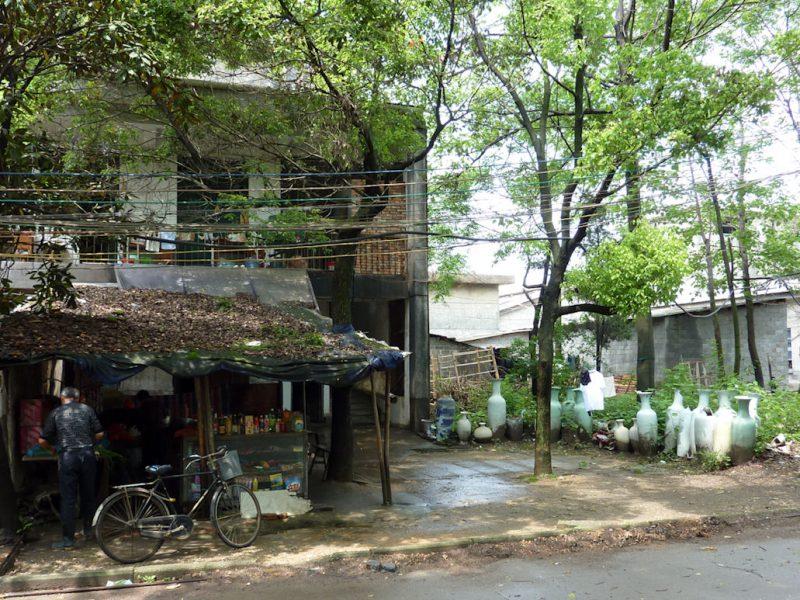 Une vue de Jingdezhen