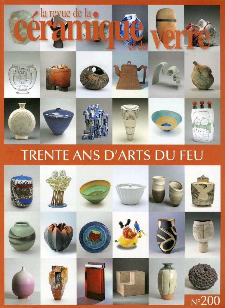 Photo de couverture : La revue de la céramique / trente ans d'arts du feu