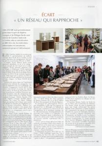 Article dans la revue de la céramique