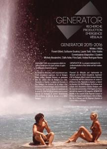 Affiche : Generator 2015