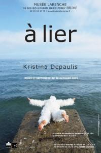 """Visuel de l'exposition """"à lier"""" de Kristina Depaulis"""