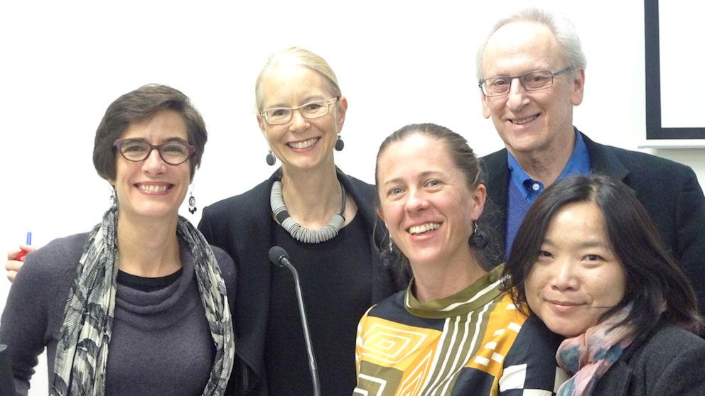 Wendy GERS, Jane MILOCH, Elizabeth PERRILL, Robert BELL et Shuling CHIANG