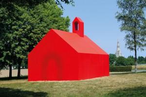 Image : Christophe Cuzin : Construire une chapelle en placoplâtre...