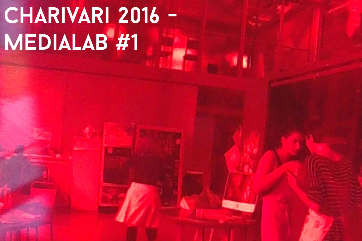 Photo : Workshop MediaLab#1 avec Fabian Gental - Charivari 2016