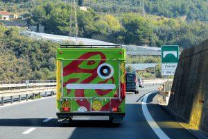 camion art nOmad, première biennale d'art contemporain itinérante à Venise | photo : Camille François