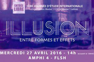 journée d'étude - illusion, entres formes et effets