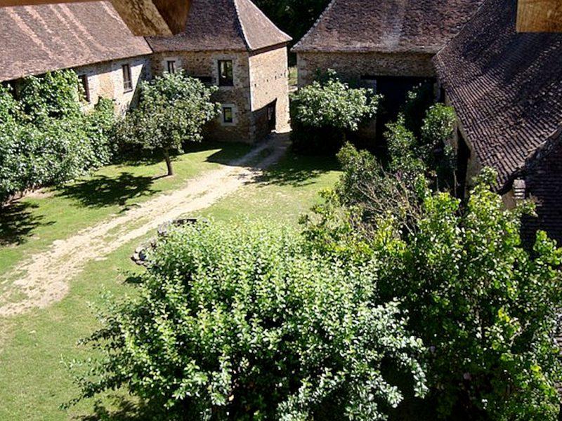 Vieux château de Vicq sur Breuilh