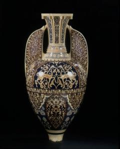 Vase dit de l'Alhambra, Théodore Deck