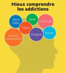 """Visuel : conférence """"Mieux comprendre les addictions"""""""