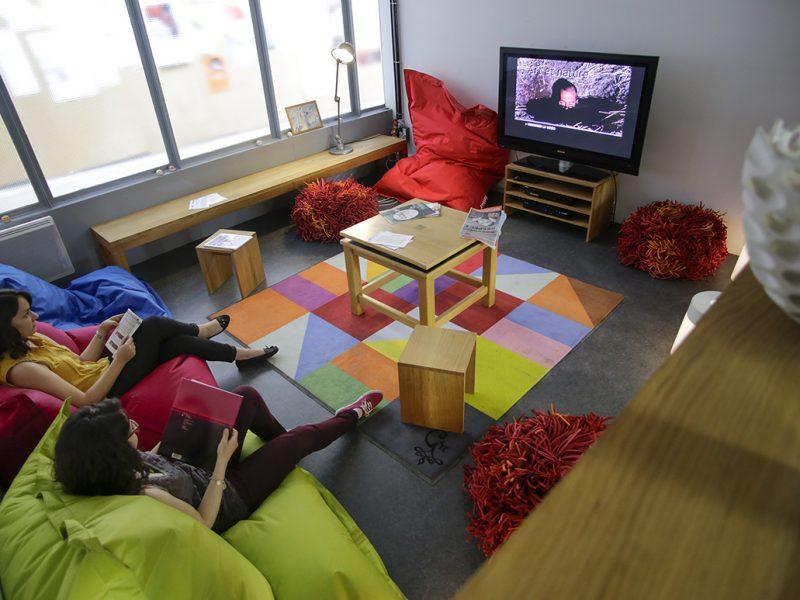 espace multimédia, bibliothèque ENSA