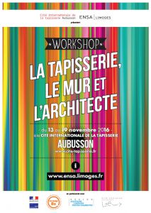 "Visuel : workshop ""La tapisserie, le mur et l'architecte"""