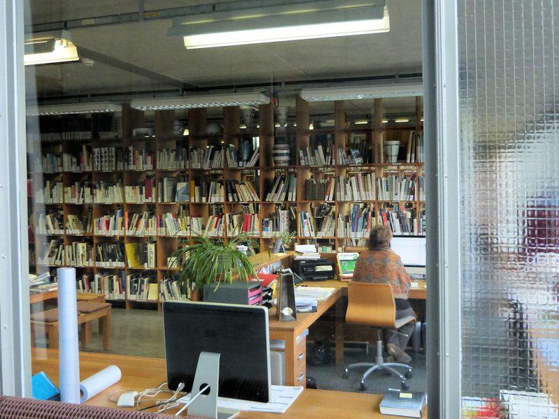 La bibliothèque de l'Ensa Limoges