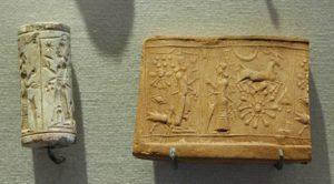 Sceau Cylindre, Mésopotamie, 3000 av JC