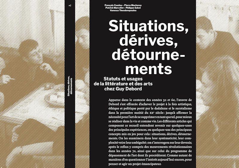 Couverture du livre : situations, dérives, détournements