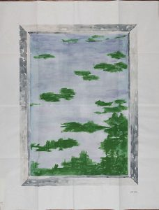 Camille SAINT-JACQUES, LIV 224, 2011   Aquarelle sur papier   Collection Artothèque du Limousin