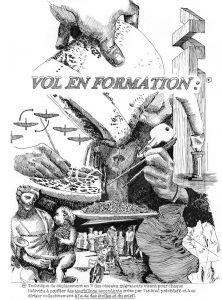 """Visuel exposition """"Vol en formation"""""""