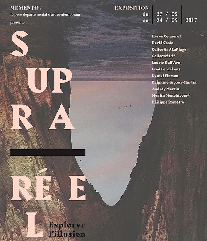 Visuel exposition SUPRA REEL explorer l'illusion