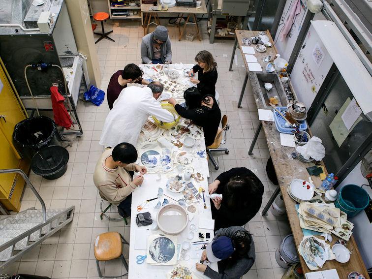 Visuel atelier couleur céramique