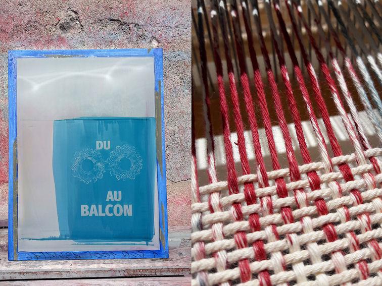 Visuel atelier Art textile