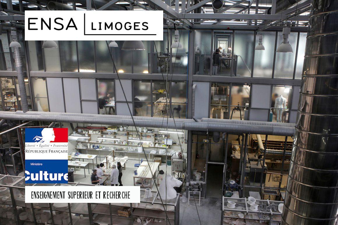 Visuel AVP | ENSA Limoges / atelier porcelaine