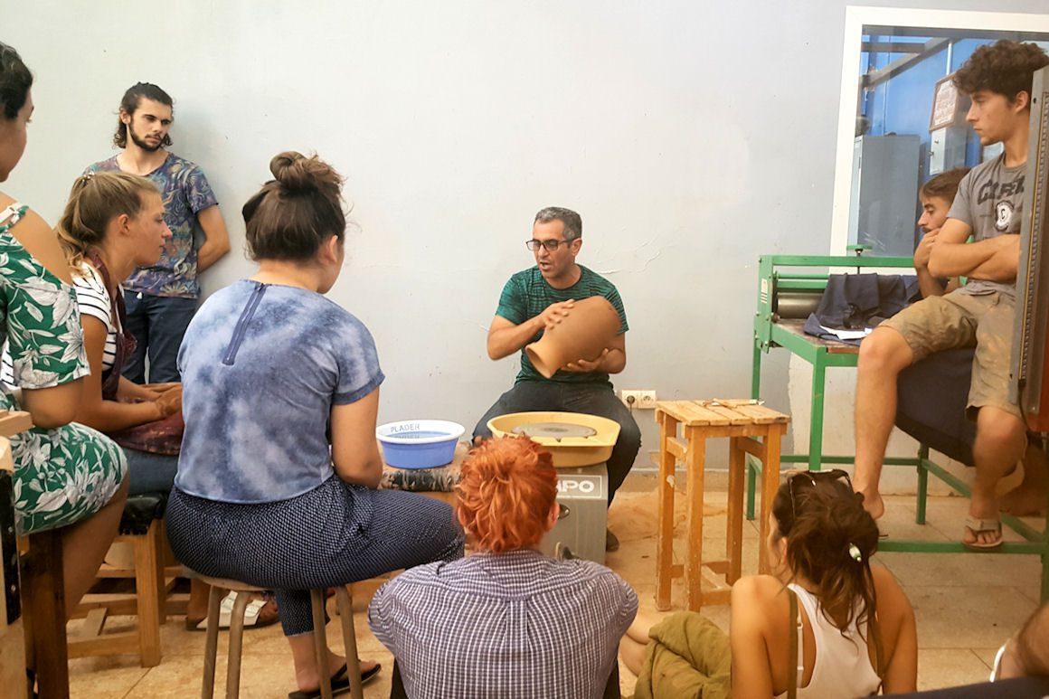 Workshop à l'IAT de Meknès