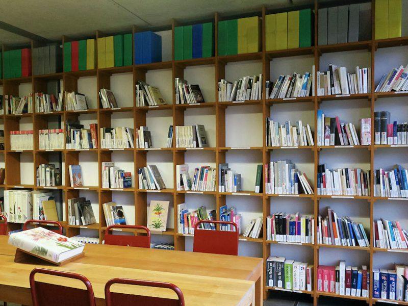 photo de la bibliothèque ENSA Limoges