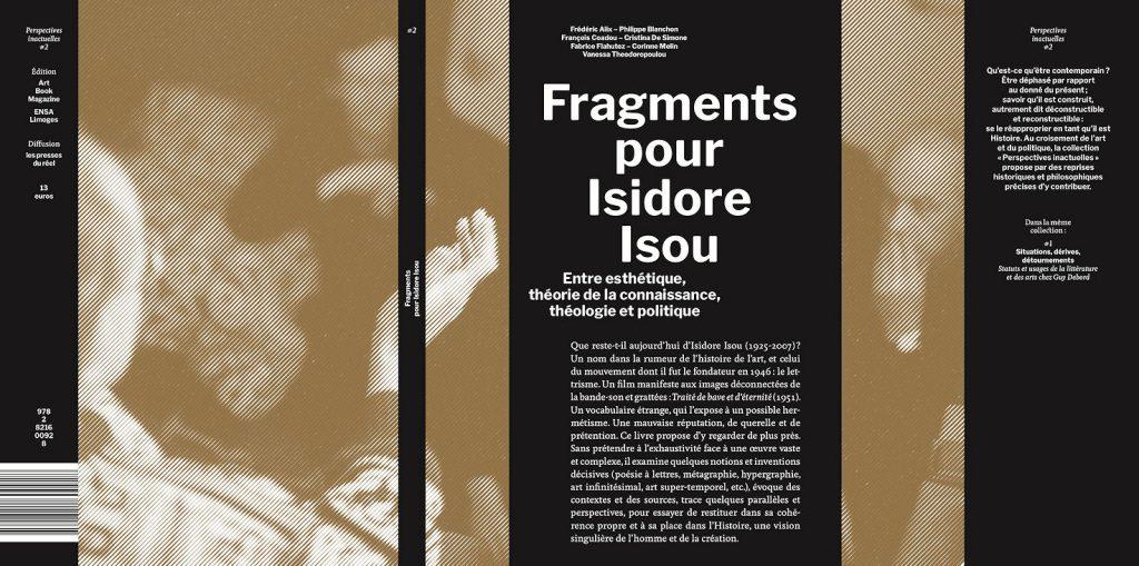 Publication : Fragments pour Isidore Isou