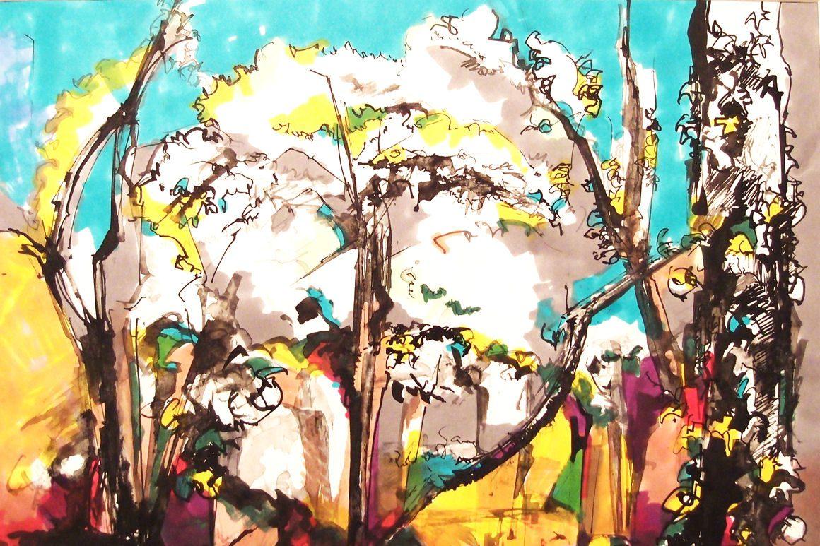 Peinture d'Isabelle SIMON