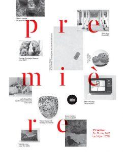 visuel de l'exposition PREMIERE 2017-2018