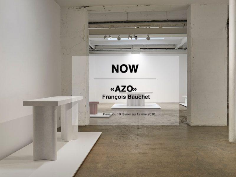 Visuel : Exposition « AZO » de François Bauchet à la galerie Kréo