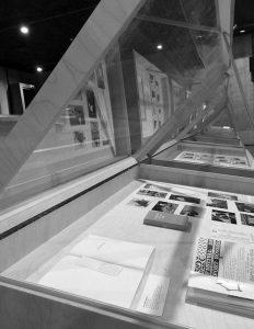 Photo : Vitrine de l'exposition PREMIER RANG #5