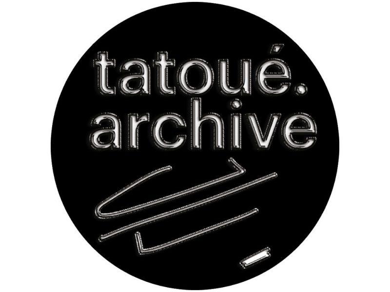 Visuel exposition Tatoué.Archive Tatoué.Lab