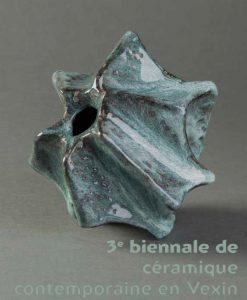 Visuel 3eme biennale céramique en Vexin
