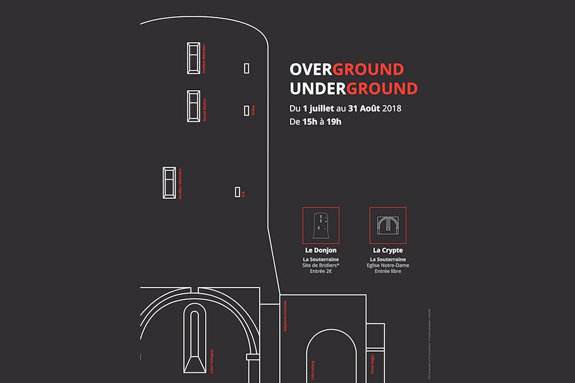 Visuel de l'Exposition Overground Underground