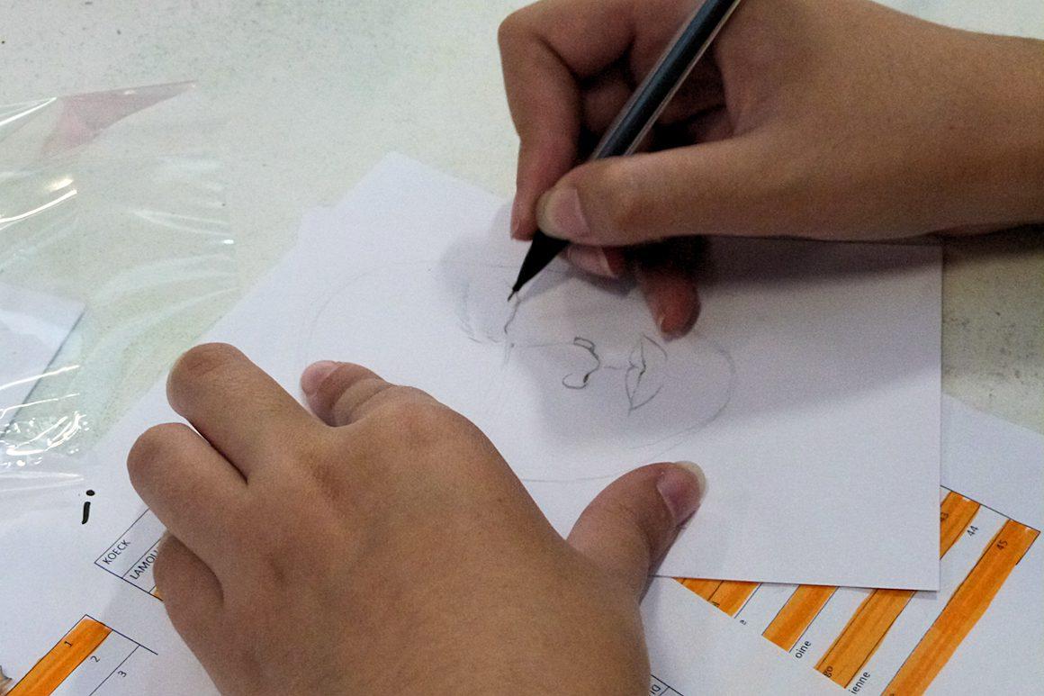 "Photo : workshop ""drawing days"""