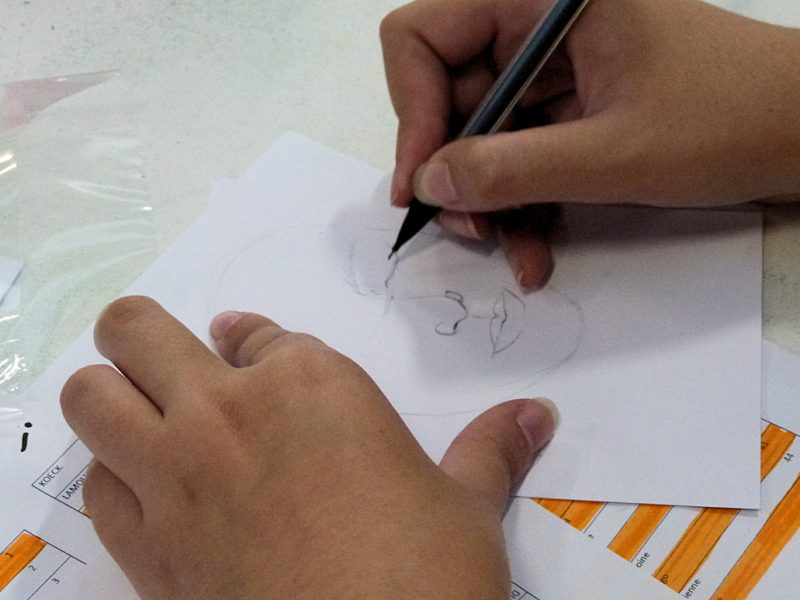 "Photo : workshop ""drawing days"""