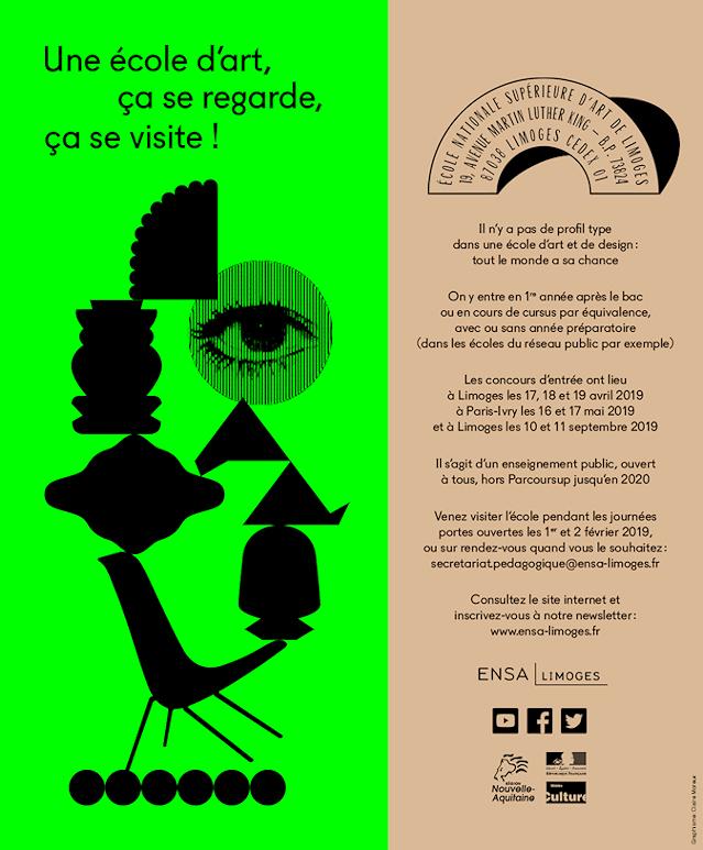 Image : Plaquette de présentation de l'ENSA Limoges