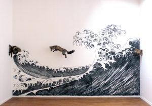"""Photo : """"La vague de l'océan"""" de Delphine Gigoux-Martin"""