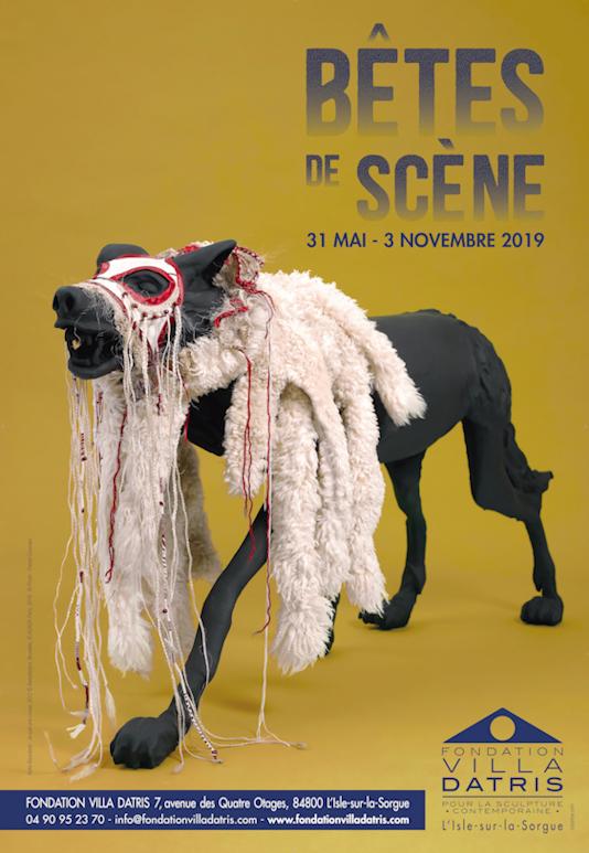 """Affiche : exposition """"Bêtes de scène"""""""
