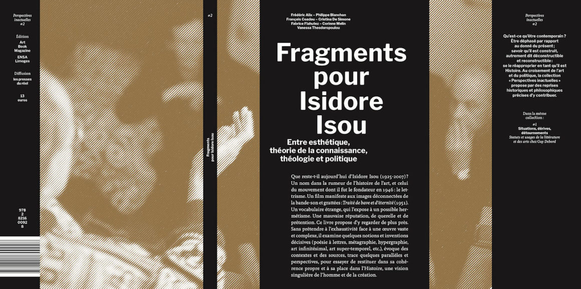 Photo de la publication Fragments pour Isidore Isou
