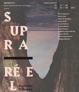 Visuel de l'exposition Supra réel