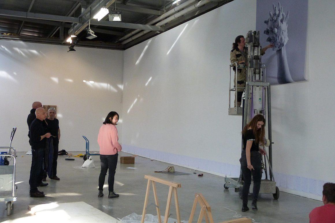 Photo : exposition dans le cadre du workshop ARC CCE