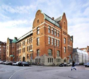 photo de l'Academy of design and crafts HDK Göteborg en Suède