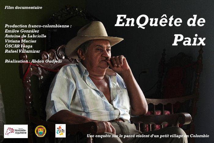 Affiche du film EnQuête de Paix d'Abdou Oudjedi
