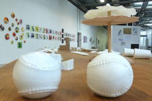 Photo : exposition des ateliers publics Mensis Lulli