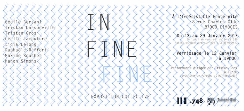 Image : In Fine, une exposition des étudiants de l'ENSA Limoges