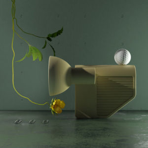 Photo : Oeuvre de Jean Baptiste FASTREZ, designer