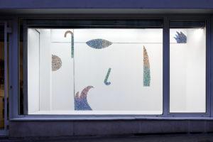 Photo : exposition des travaux de Roxane Borujerdi